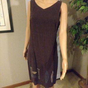 Carole Little Leaf Dress